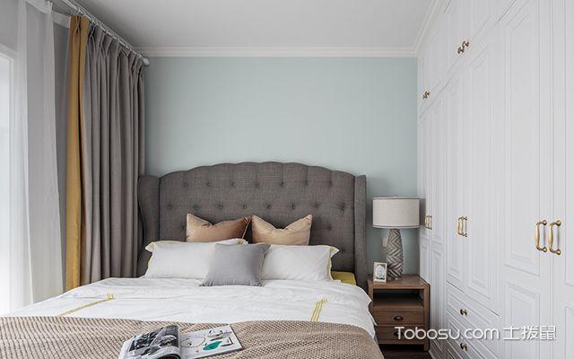 120平四室两厅装修案例—次卧