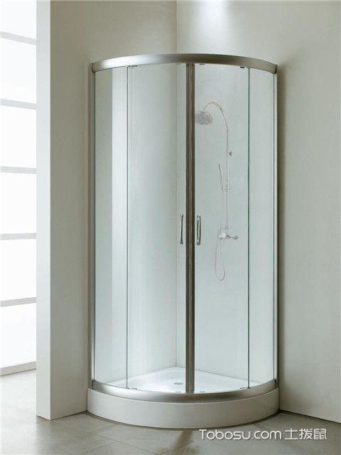 日常使用淋浴房注意事项之保护边角位置