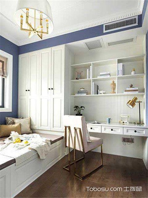 三室两厅美式风格家装设计之儿童房