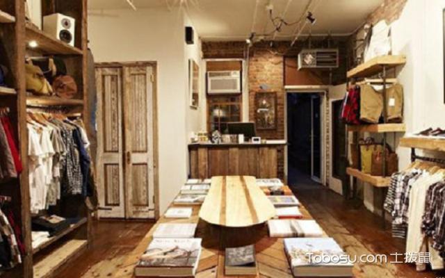小服装店装修效果图 案例