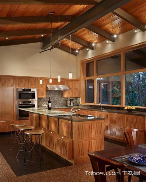 如何拓宽厨房空间之拱形屋顶