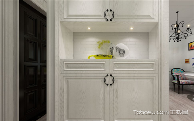 室内如何装修设计之玄关隔柜