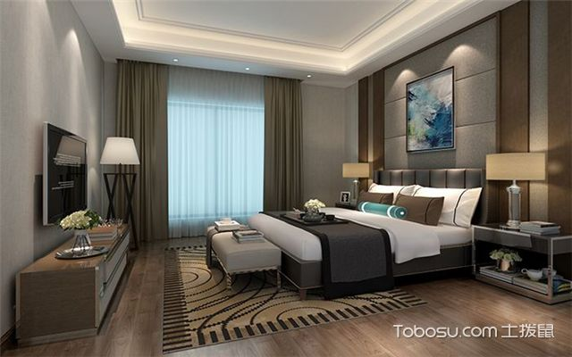 室内如何装修设计之床架