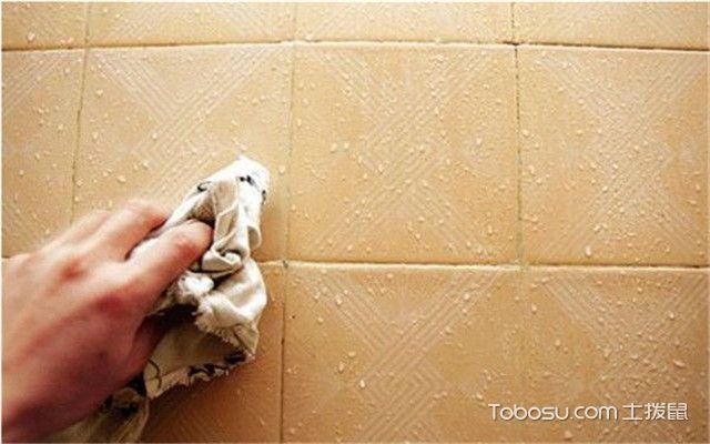 卫生间瓷砖清洗小妙招
