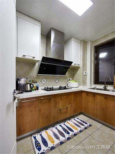 86平米北欧风格设计案例之厨房