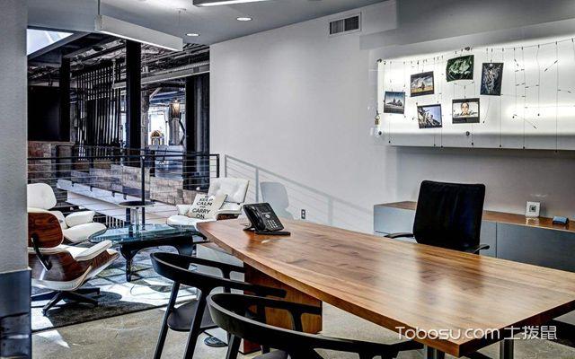后现代办公室效果图1