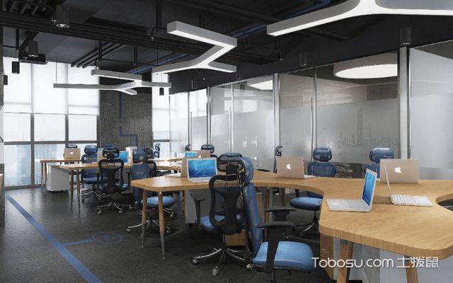 后现代办公室效果图2