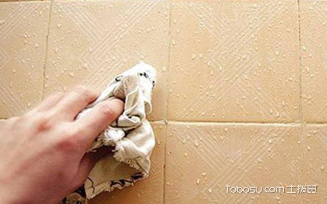 怎么做新房保洁—瓷砖