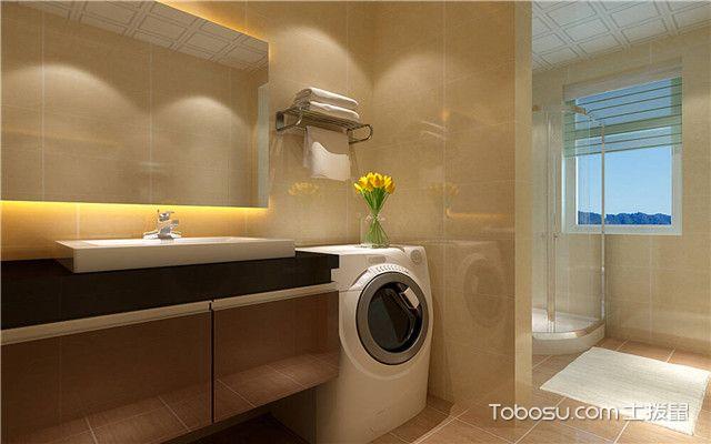 卫生间为什么会发臭之洗衣机出水管过于宽敞