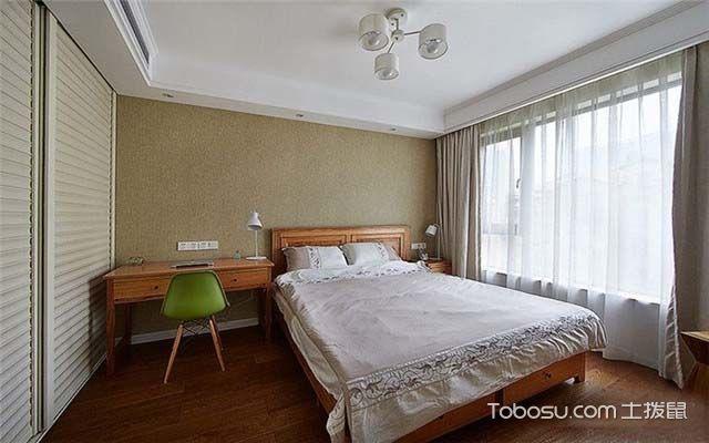100平米美式风格案例图之卧室