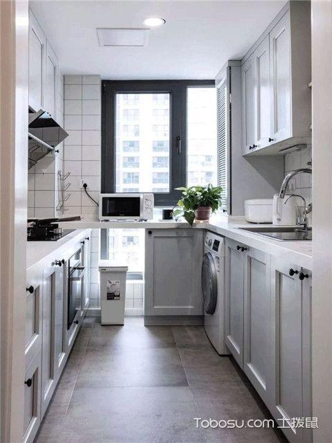 68平米宜家风格装修设计之厨房