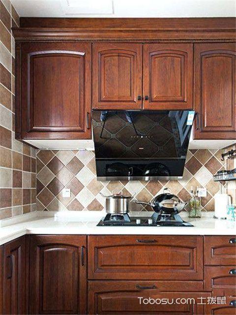 四室两厅美式风格装修案例之厨房