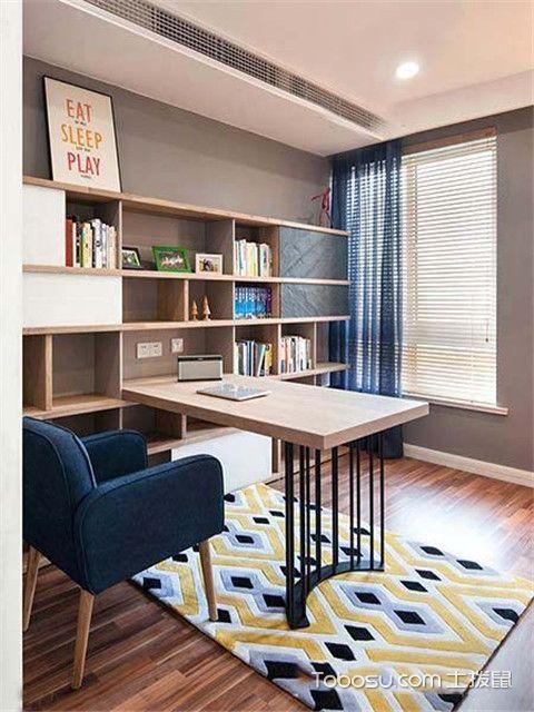 160平米大户型装修设计之书房