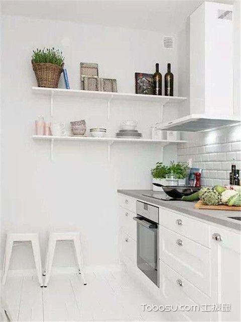 混搭风格公寓装修效果图之厨房