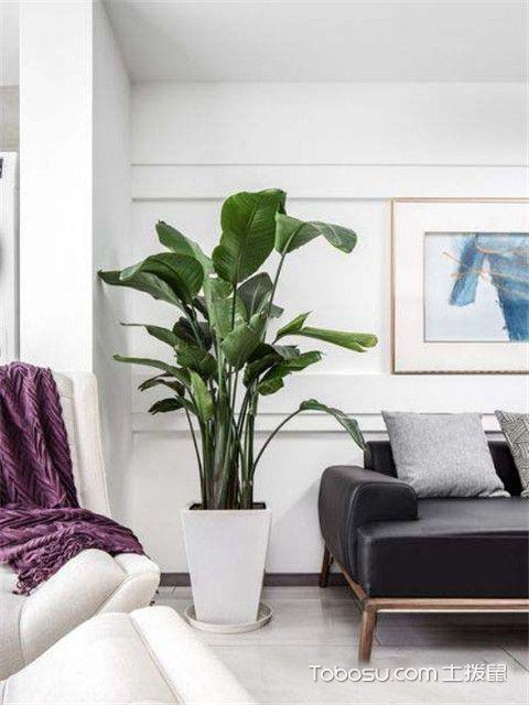 105平米简约风格装修案例之细看客厅