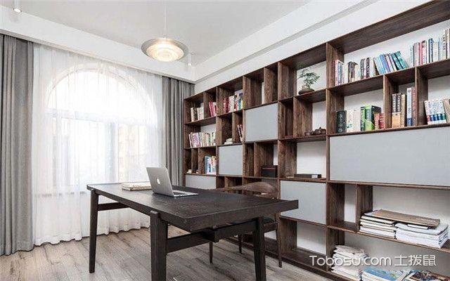 105平米简约风格装修案例之书房
