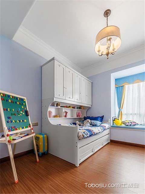 现代美式风格装修效果图之儿童房