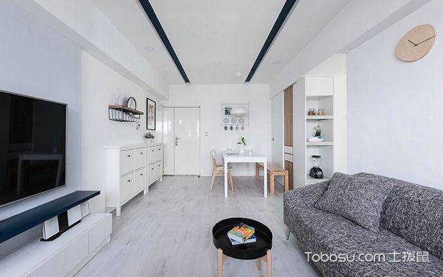 小户型客厅装修技巧—案例2