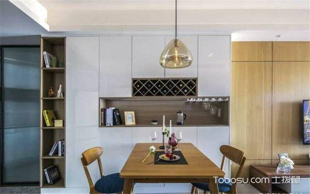 餐边柜如何选购之空间面积