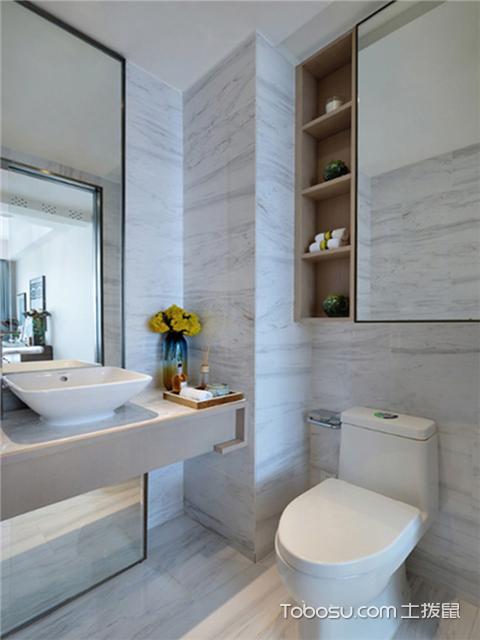 简欧风格设计图之卫生间