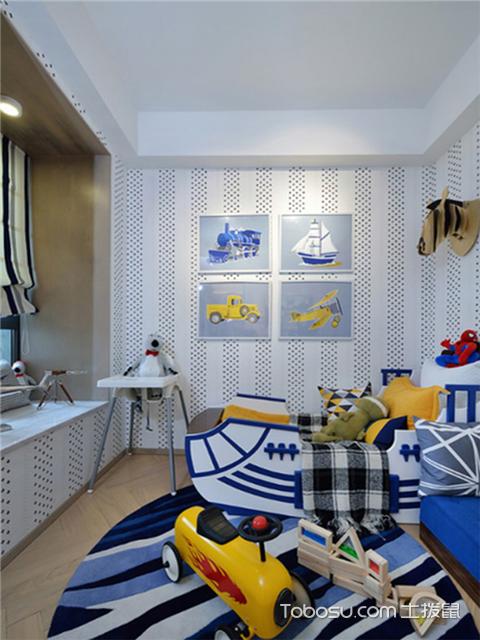 简欧风格设计图之儿童房