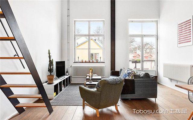 45平米跃层设计之客厅