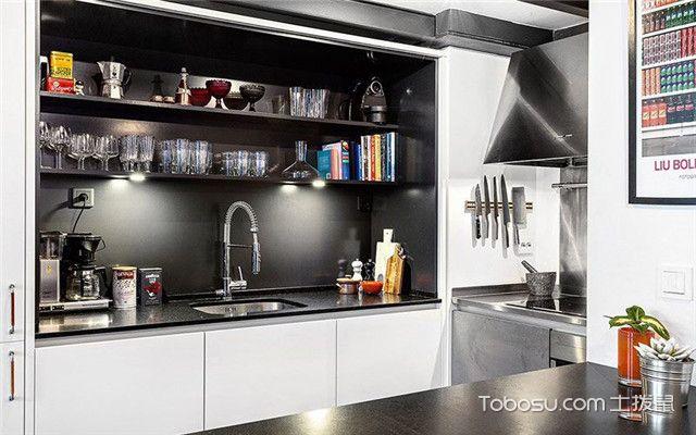 45平米跃层设计之厨房