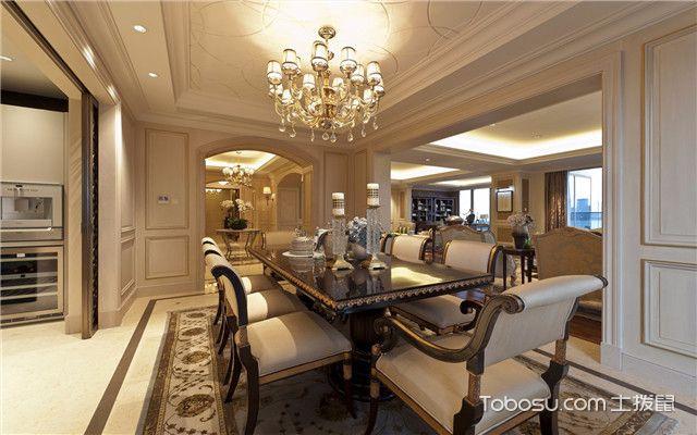 合肥380平欧式风格别墅装修案例之吊灯