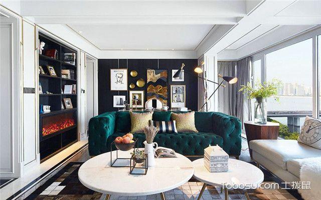 180平米大户型装修案例之客厅