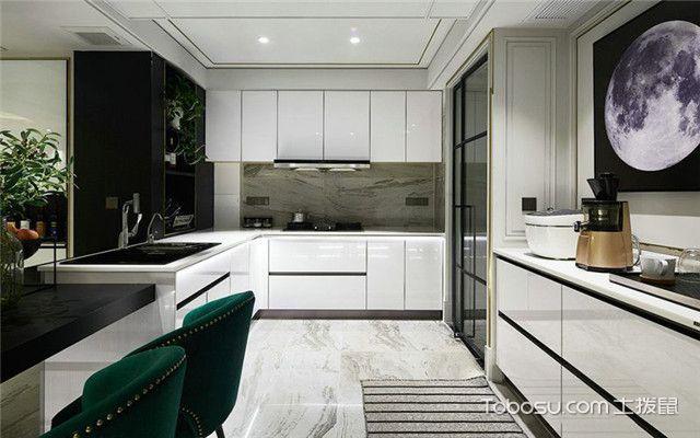 180平米大户型装修案例之厨房
