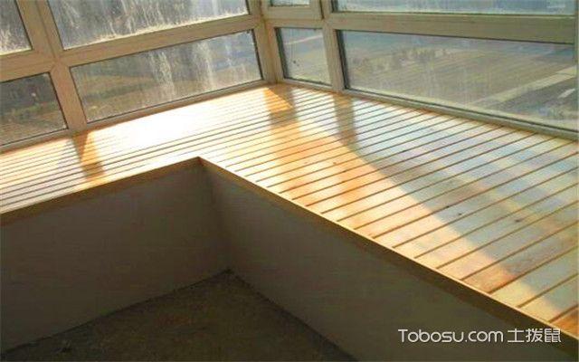 飘窗台面用什么材料好之木地板