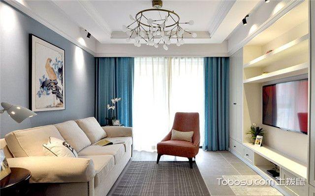 美式风格公寓装修案例之吊灯