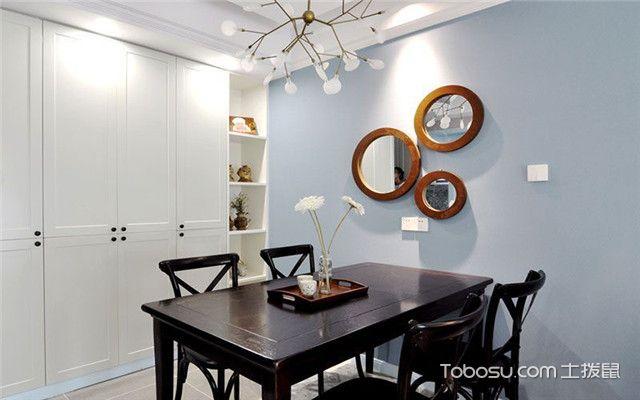 美式风格公寓装修案例之储物柜