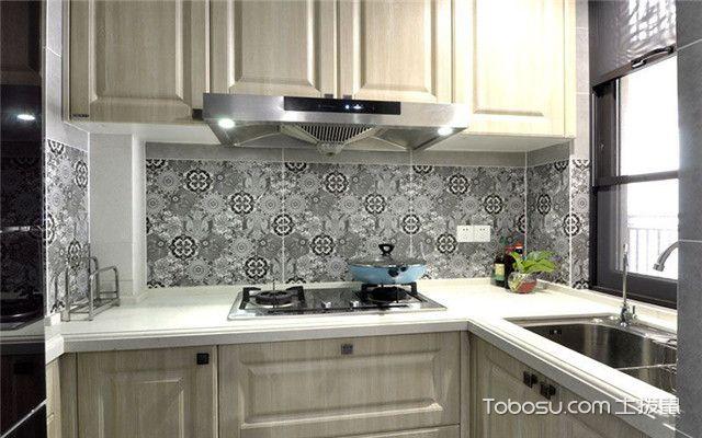 美式风格公寓装修案例之厨房