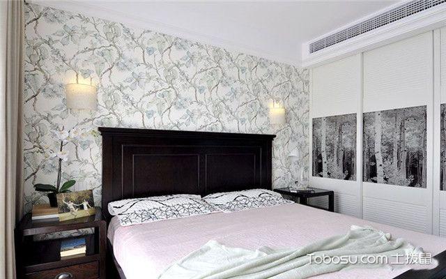美式风格公寓装修案例之卧室