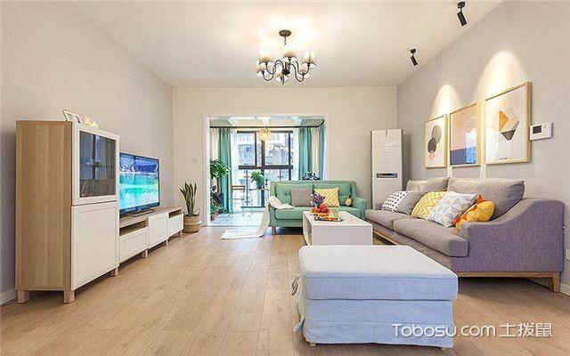 110平米北欧风格三居室装修设计