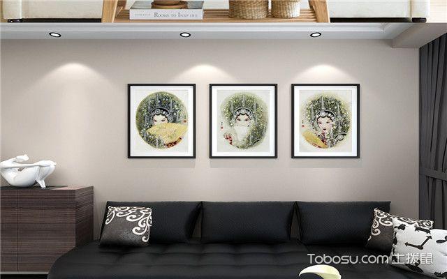 客厅装修要注意什么之装饰画选择
