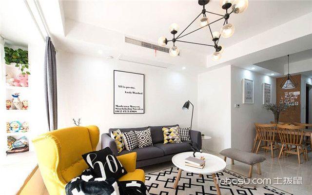 北欧风格装修案例之客厅家具