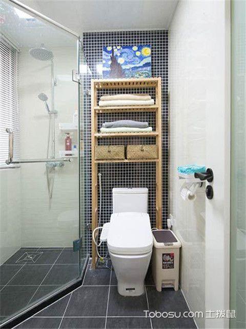 北欧风格装修案例之卫生间