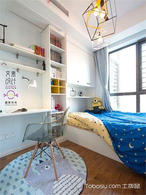 北欧风格装修案例之儿童房