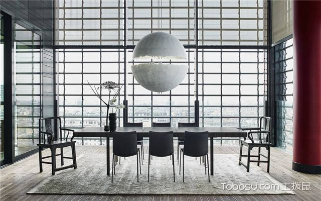 家具怎么摆放-餐厅家具摆放