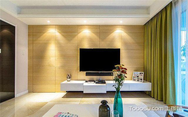 现代简约风格装修案例之电视墙