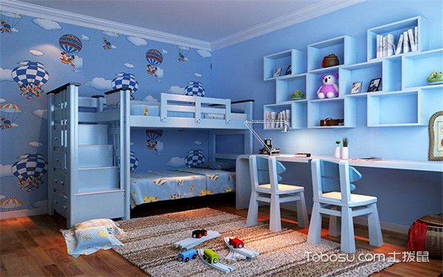 儿童房装修要注意什么之色彩搭配