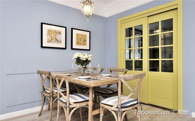 100平现代美式风格案例之餐桌