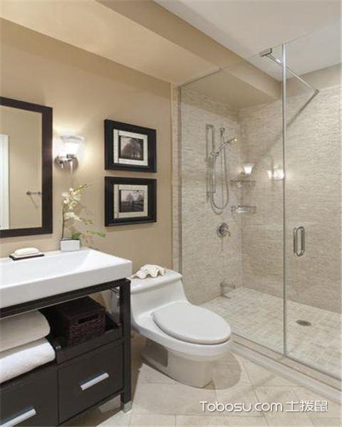 浴室瓷砖有哪些设计技巧之干湿分开