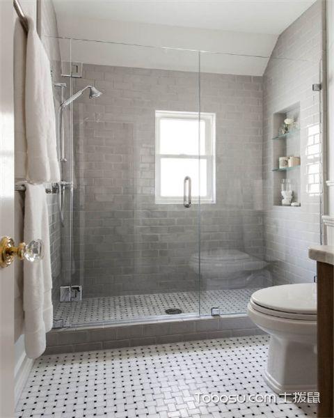 浴室瓷砖有哪些设计技巧之混搭拼接法