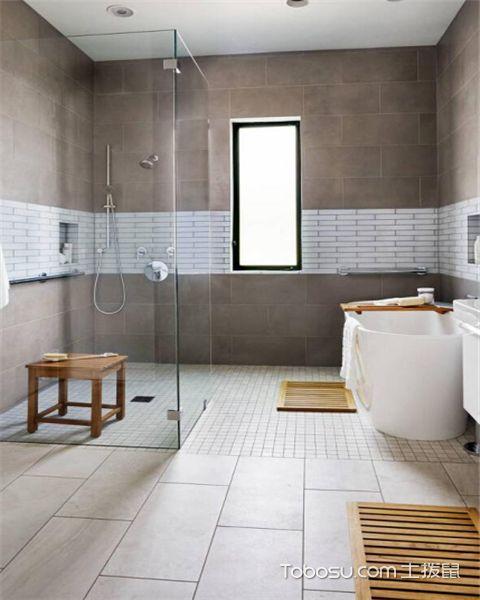 浴室瓷砖有哪些设计技巧之对比色