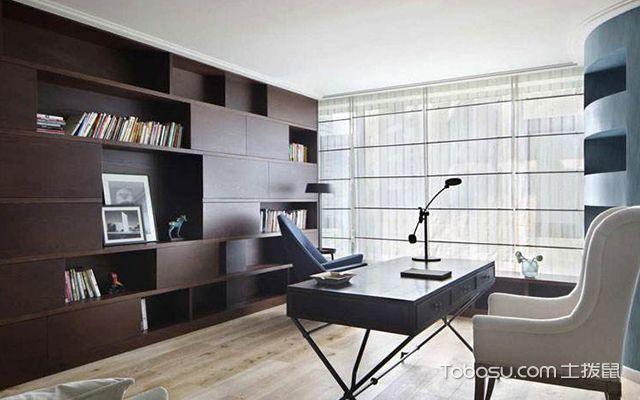 书房装修设计—案例1