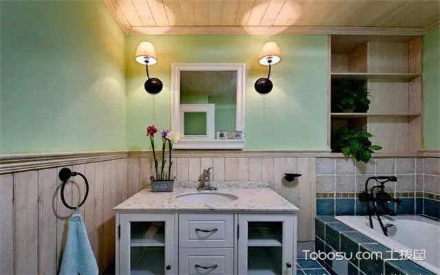 墙裙怎么设计才好看之卫生间墙裙
