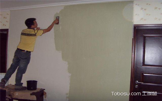 墙体翻新技巧之刷胶